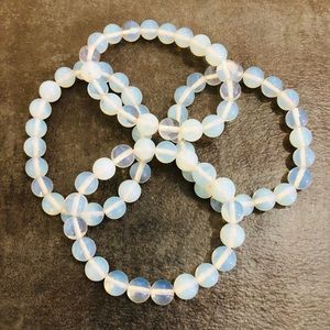 Women Jewelry Bracelets Opal Stone Boho Brand